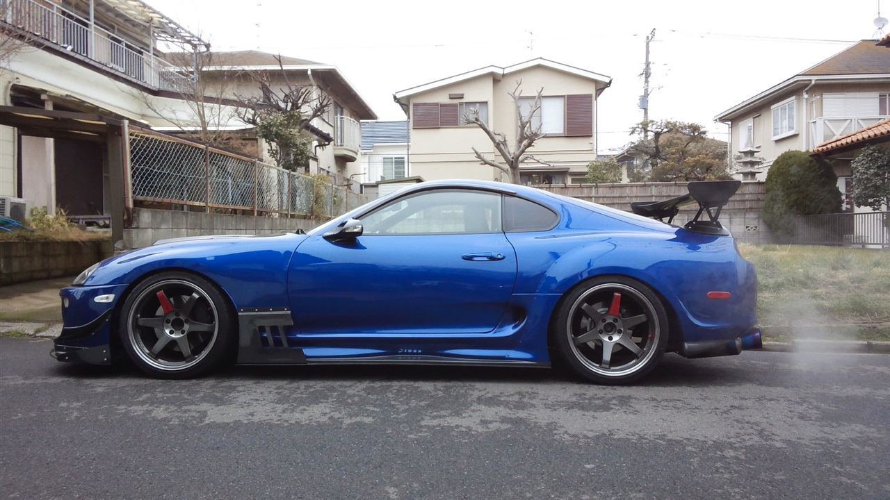Jza80 Mkiv Supra Spec R Full Aero Shine Auto Project